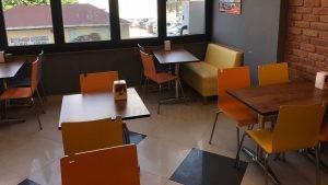 Cafe Renkli Mono Blok Sandalye
