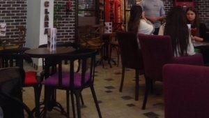 Cafe Santa Clara Cafe Gaziantep Sandalye