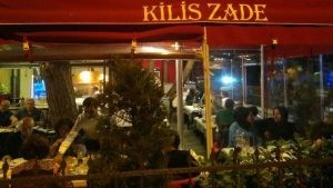 Kilis Zade Restoran Dekorasyon Dis Mekan Rattan Sandalye
