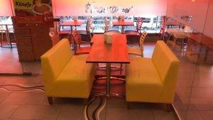 Sultanbeyli İsos Cafe Renkli Mono Blok Sandalye 2