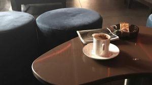 Almanya Cafe Tabure