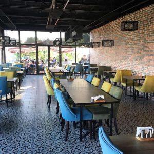 Bahce Cafe Rattan Sandalye Dekorasyon Darica
