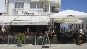 Cafe George Otel Cafe Sandalyesi