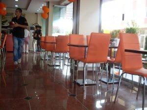 Turuncu Monoblok Sandalye