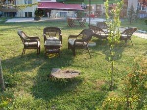 Hasır Dış Mekan Sandalye Sehpa
