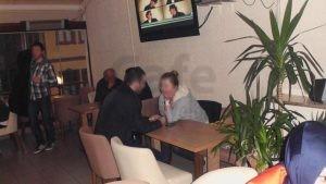Olbia Cafe Ahsap Ayakli Poliuretan Sandalye Cafe Masasi
