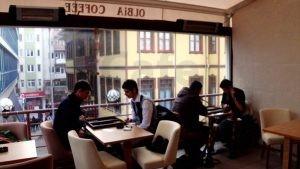 Olbia Cafe Modern Poliuretan Sandalye