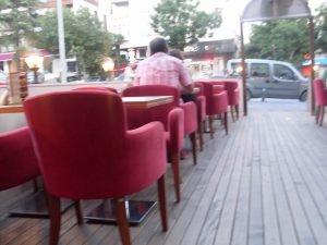Retro Ayak Aluminyum Sandalyesi