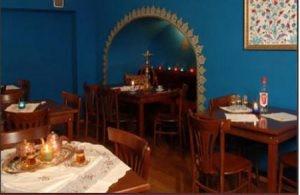 Abdikler Török Étterem Cafe Ahşap Sandalye