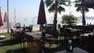 Kocaeli Naila Cafe Dekorasyon Minderli Rattan Sandalye