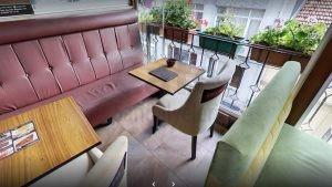 Kadikoy Tiryaki Cafe Kompakt Dikdortgen Tablali Masa