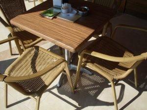 Cayirova Park Cafe Rattan Sandalye