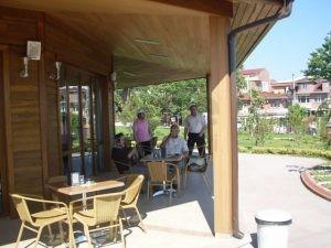 Kocaeli Buyuk Sehir Belediyesi Cayirova Park Cafe Dis Mekan Rattan Sandalye
