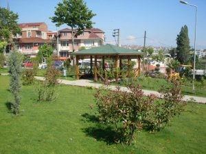 Kocaeli Buyuk Sehir Belediyesi Cayirova Park Cafe Rattan Sandalye Dis Mekan Dekorasyon Kamelya