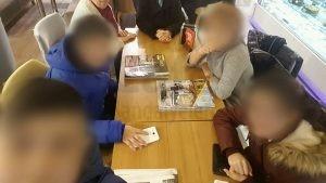 Migros Avm Ordu Ozsut Cafe Masasi