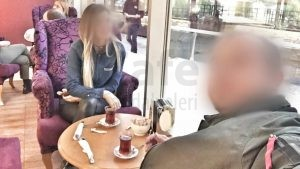 Migros Avm Ordu Ozsut Yuvarlak Ahsap Cafe Masasi