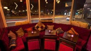 Almanya Sultan Saray Cafe Bar Kose Kapitoneli Sedir