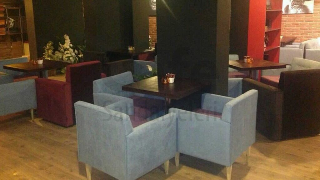 Breakfast Rustik Cafe Masasi Rustik Sandalye