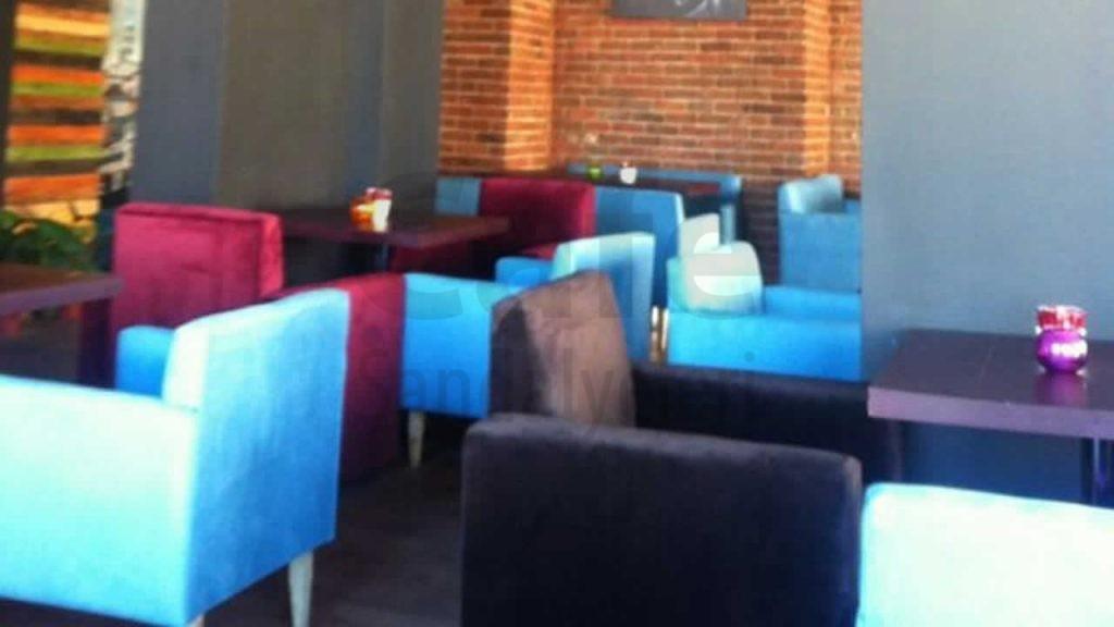 Cafe Modern Renkli Sandalyeler
