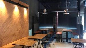 Umman Change Burger Telli Sandalye Kompakt Tablali Masa